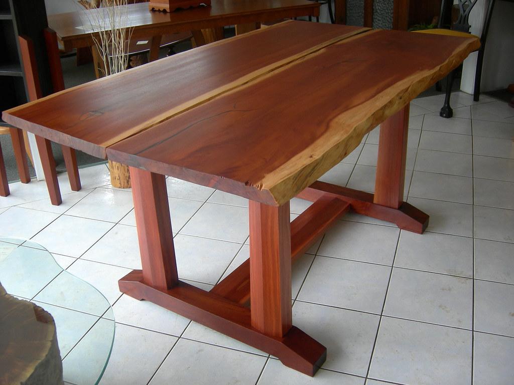 Rose Mahogony Dining Table