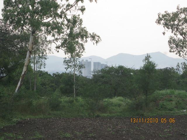 Paranjape Schemes' Blueridge Hinjewadi from Teerth Towers at Baner Sus, Pune