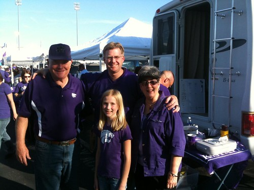 Our family at the tailgate