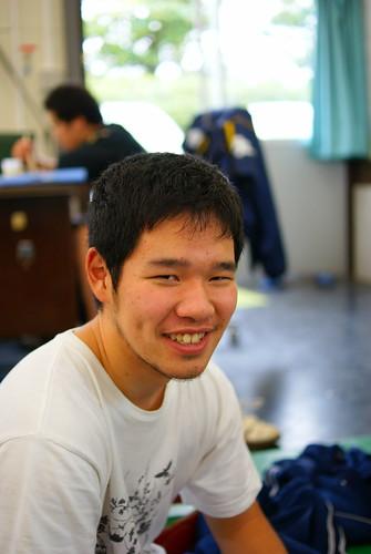 笑顔の素敵な小長谷建選手