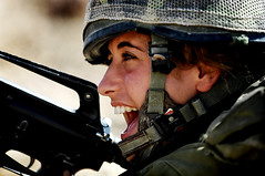 Infantry Instructors Course, Aug 2009 (Israel Defense Forces) Tags: girls israel women soldiers israeli idf photooftheday womensoldiers idfsoldiers israeldefenseforces groundforces militaryexercises femalesoldiers