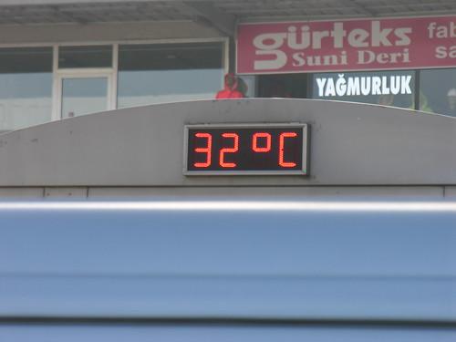 2010. november, Isztambul és 32 fok