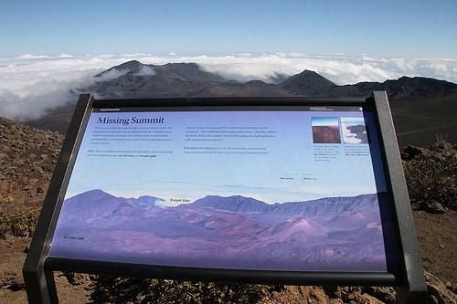 Looking towards Kaupo Gap on Haleakala