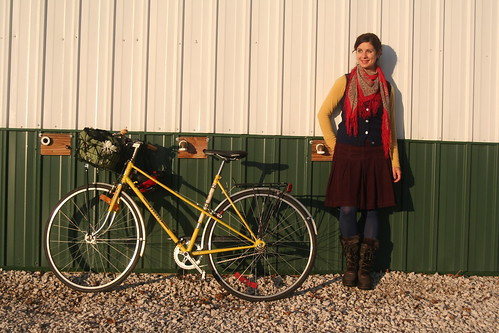 Yellow Mixte Remix