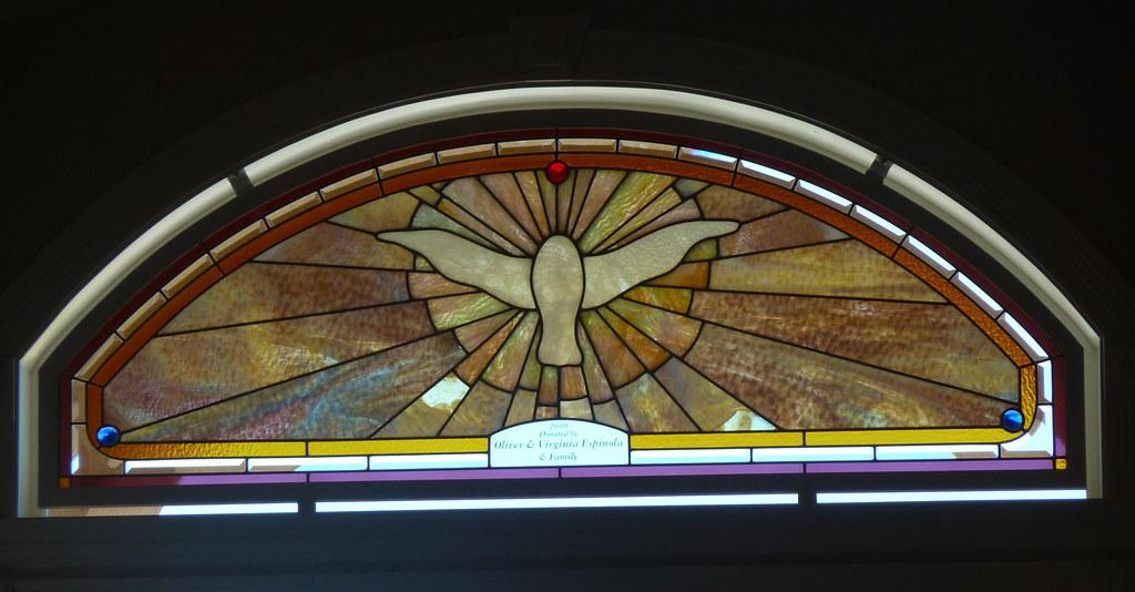 Sociedade Flor Acoriana Chapel Window Over Entrance