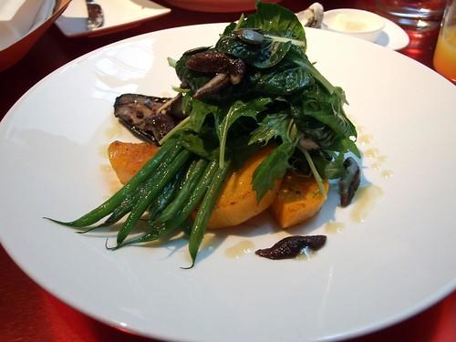 Frank - Roasted shiitake mushrooms with heirloom squash