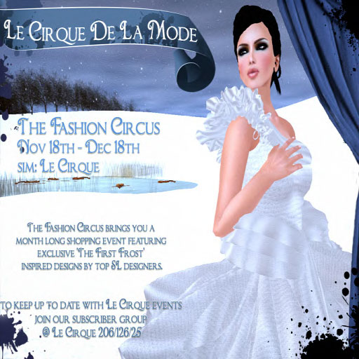The Fashion Circus - First Frost