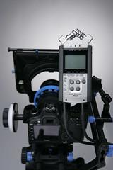 Redrock Micro and Zoom H4N (redrockmicro) Tags: zoom redrock recorder audio h4n redrockmicro hdslr