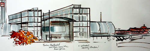 Berlin: Hauptbanhof whole sketch