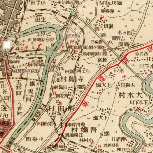 Tamanoi Map on 1917(T06)