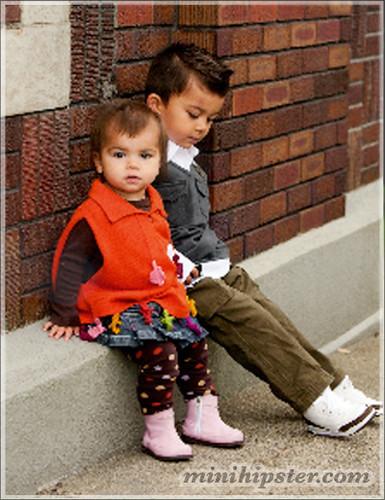 Nico & Ava... MiniHipster.com: kids street fashion (mini hipster .com)