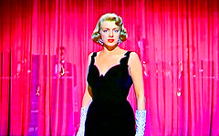 Singer/Movie Star Rosemary Clooney Belts One Out (Walker Dukes) Tags: california pink red woman white black beautiful beauty television fashion hair screenshot glamour eyes long dress young lips gloves hollywood blonde actress filmstill filmstills actor curtains 50s earrings transparent lush cleavage diva eveninggown tcm platinum busty moviestills bombshell moviestill oldmovies picturesofthetelevision fullfigured colormovies colorfilms