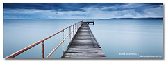 Keep Walking ([ Kane ]) Tags: ocean longexposure blue green water canon landscape photography pier boat jetty australia brisbane qld queensland 5d kane 1740 6x17 gledhill southeastqueensland 5dmkii kanegledhillphotography