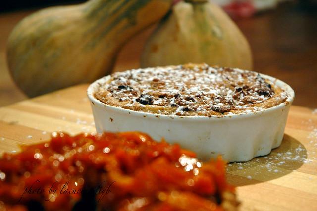 Crostata di zucca speziata e noci