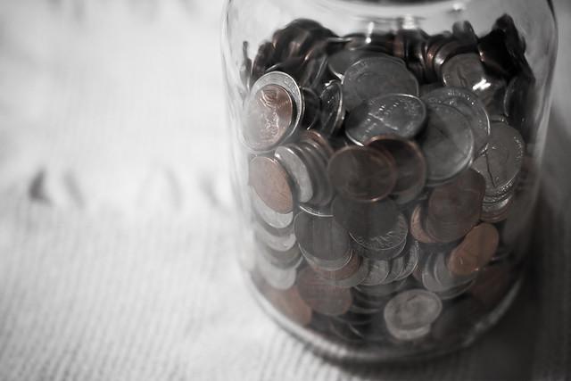 {321/365} coin jar