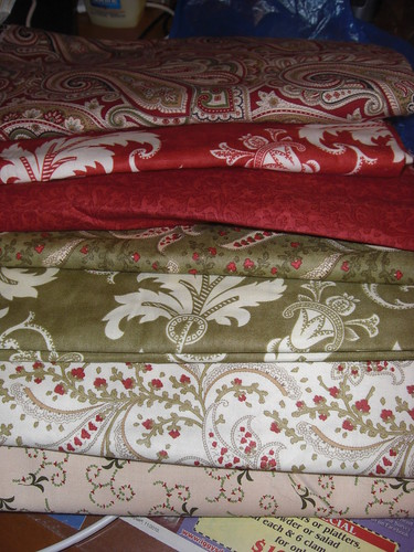 Christmas Quilt Fabrics