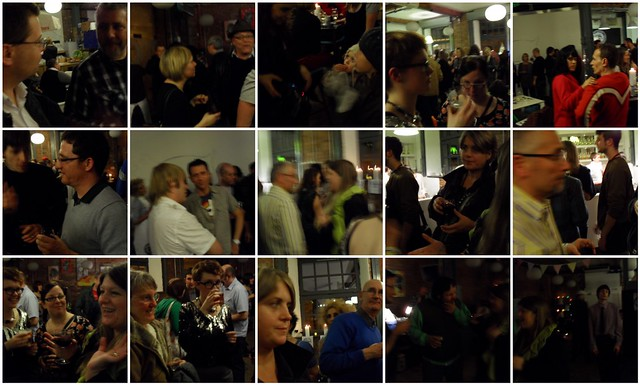Dock Street Market Launch - conversation mosaic