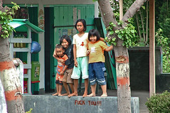 Wolves in sheep's clothing? (N Lauder) Tags: children indonesia child lombokindonesia