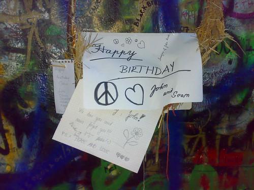 Muro de Lennon, Ilha de Kampa