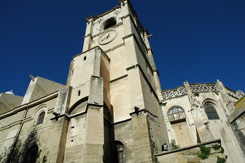 The Collegiate church Notre Dame des Anges