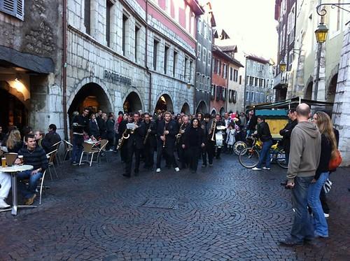la musique a Annecy