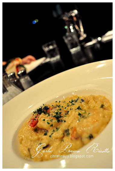 The Angel Cafe: Garlic Prawn Risotto