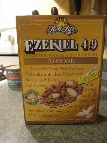 Ezekiel Sprouted Grain Cereal