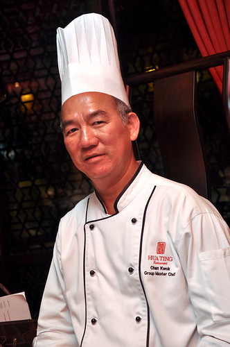 Chef Chan Kwok, the Group Master Chef