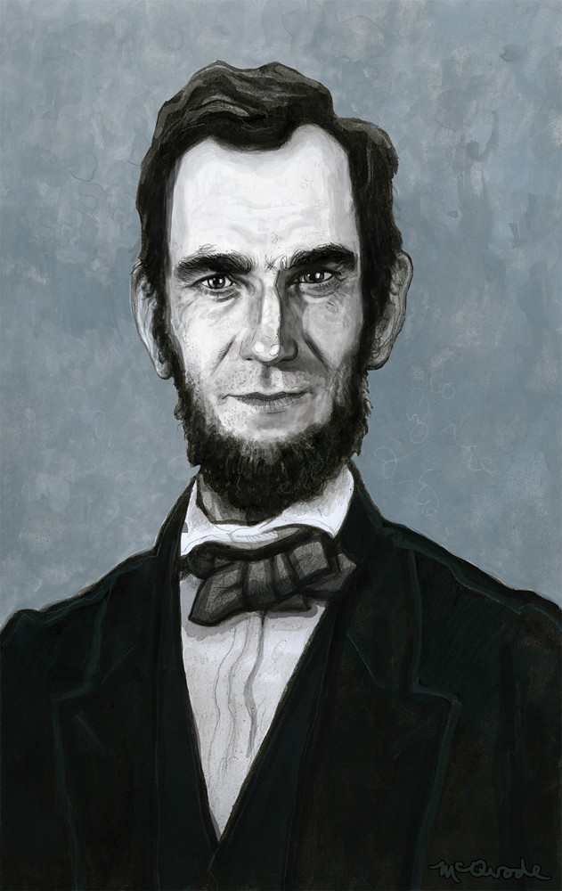 Daniel-Day-Lewis-as-Abraham-Lincoln-by-Patrick-McQuade