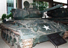M24 Chaffee Tank in Beijing (radio53) Tags: china us war tank united chinese korea un korean states afv chaffee m24