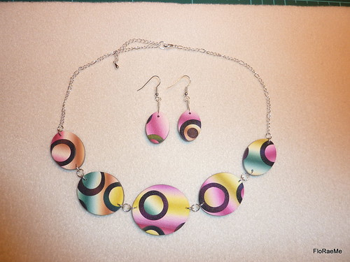 Lindly Haunani bubbles necklace set