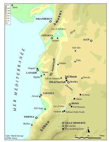 Les sites quadrangulaires de la vallée de l'Oronte