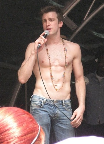 Gavin Creel Shirtless