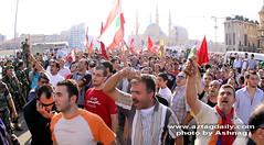 Lebanese Armenians protest in downtown Beirut against the visit of Turkish Prime Minister Recep Tayyip Erdogan to Lebanon (Ashnag) Tags: lebanon against prime downtown protest visit beirut lebanese turkish minister erdogan recep tayyip armenians
