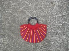 Fat bag in red (crochetbug13) Tags: crochet fatbag