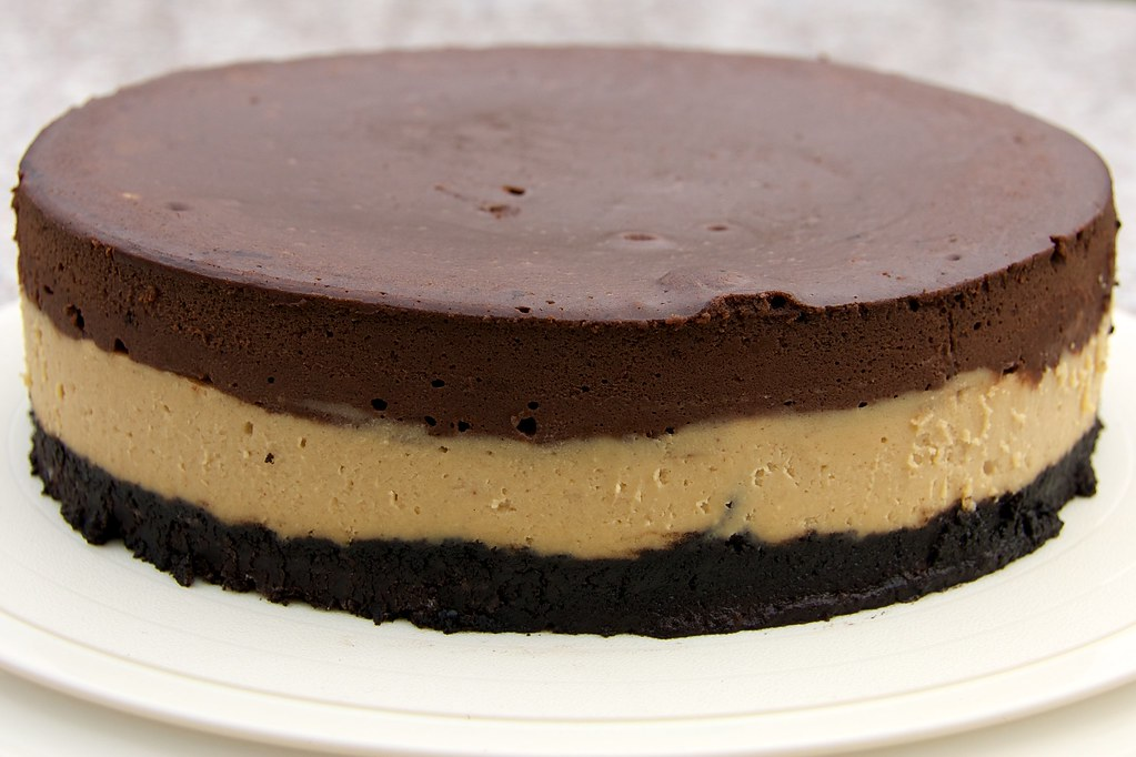 Chocolate–Peanut Butter Cheesecake