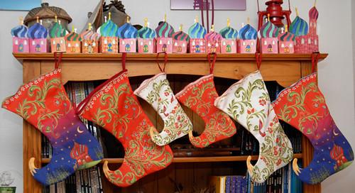 christmass stocking installation