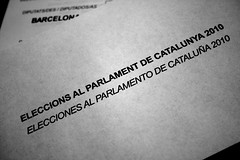AND THE WINNER IS . . . (SergiC) Tags: de al si parliament catalonia catalunya parlament elections sci pp erc psc elecciones eleccions ciu iniciativa sergicristbaljan