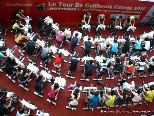 Energy Watt X California Fitness 3小時室內單車挑戰 2