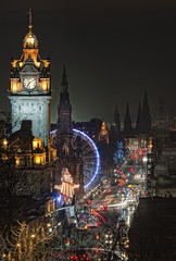 Silly season (Graham Stirling) Tags: winter light edinburgh nightshot nikond3 absolutegoldenmasterpiece grahamstirling truthandillusion