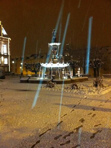 limoges mairie neige