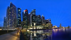 Singapore skyline (Kenny Teo (zoompict)) Tags: building singaporeriver marinabay singaporeskyline