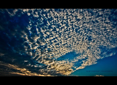 Magic in the Sky this weekend !! (VickyChauhan) Tags: blue sky india clouds evening symmetry hyderabad incredible