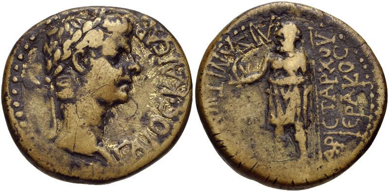 PHRYGIA, Aezanis. Gaius (Caligula). AD 37-41. Æ 20mm (4.96 g, 11h).