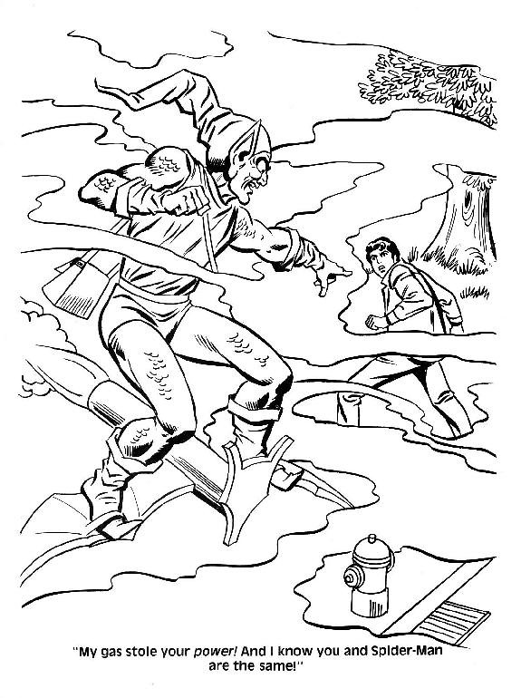Spider-Man Unmasked! Coloring Book027