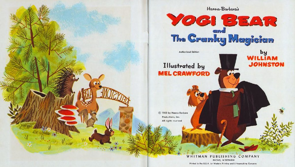 Yogi Bear & the Cranky Magician002