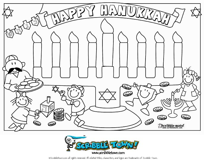 gelt coloring pages - photo#14