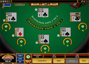 Multi-Hand European Blackjack Rules