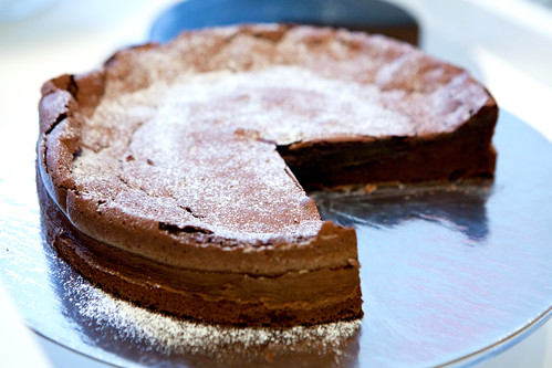 Chocolate Flourless Cakes