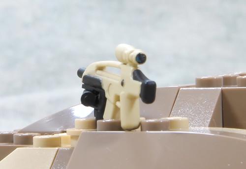 Custom minifig XM8 Carbine and XM320 GL Variant